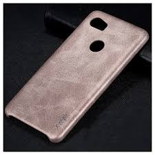x level vintage leather coated pc back case accessory for google pixel 2 xl