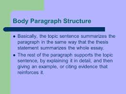 please prepare for notes date and title in your english notebook 7 body paragraph structure