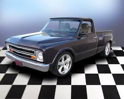 All Chevy chevy c10 short bed : 1968 CHEVROLET C-10 CUSTOM SHORT BED PICKUP - 71692