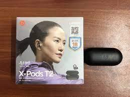 Tai nghe không dây Pisen True Bluetooth Earphone X-Pods T2 - Hàng chính  hãng