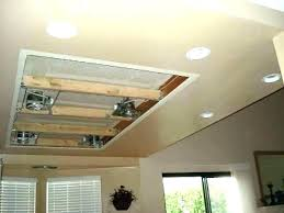 diy recessed lighting can lights in drop ceiling installing cost of finished to install23