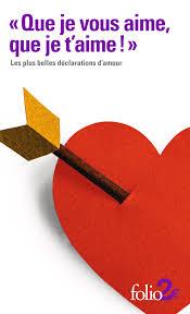 Que Je Vous Aime Que Je Taime Folio 2 Folio Gallimard