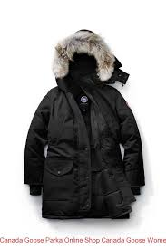 Canada Goose Parka Online Shop Canada Goose Women Trillium Parka Fusion Fit  Black