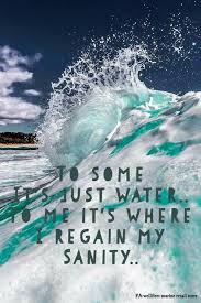 Ocean Love♡ KayakingQuotes Water Way Pinterest Quotes Extraordinary Quotes About The Ocean And Love