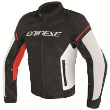 dainese air frame d1 mens mesh jacket black white red