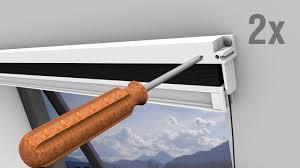 Qa435 Qa496 Qa497 Powerfix Insektenschutz Für Dachfenster Youtube