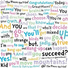 Dr Seuss Oh The Places You Ll Go Quotes Impressive Favorite Quotes Cave To Cliff
