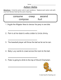 Parts of Speech Worksheets | Have Fun Teaching