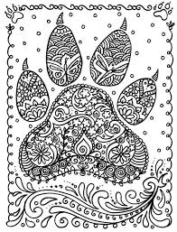 Small Picture 77 best Dog pages to color images on Pinterest Drawings