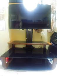 Image Shelf Carousell Tv Stand Mount With 3tier Tempered Glass Shelves On Carousell