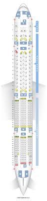 air canada seat map 777