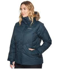 plus size columbia jackets columbia womens clothing plus size lay d down jacket night shadow