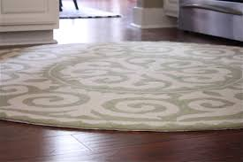 best round kitchen rugs