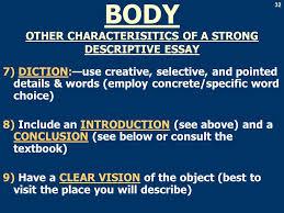 descriptive essay assignment iuml plusmn to describe a campus object 32 32