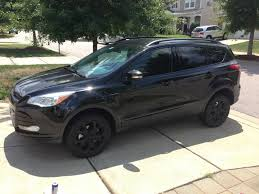2016 ford escape black. dipped the wheels and chrome molding no more on car 2016 ford escape black