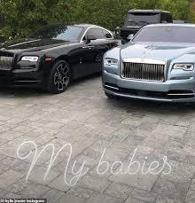 Billionaire Kylie Jenner Adds Custom Rolls Royce Wraith To Her