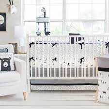 woodland baby bedding little black bear collection