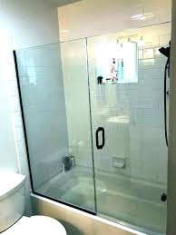 cost of installing a shower replacing tub with walk in shower cost bathroom superb to