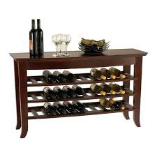 wine rack console table. Quirky White Wine Rack Console Table D4948657