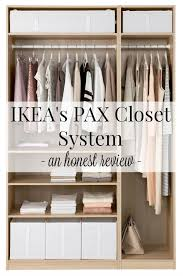 Bathroom Closet Organization Ideas Awesome IKEA's PAX Closet Systems An Honest Review Driven By Decor