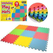 floor mats for kids. Large 9 Pcs Kids Baby Children Soft Foam Play Floor Mat Set Interlocking Puzzle Mats For E