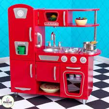 Red Retro Kitchen Kidkraft Retro Kitchen For Kids Little Earth Nest