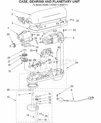 Kitchenaid Mixer Repair Parts Breakdown Ppi Blog Kitchenaid Mixer Parts Price List