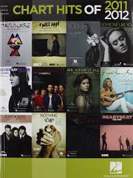 Amazon Com Chart Hits Of 2011 2012 Chart Hits Of Piano