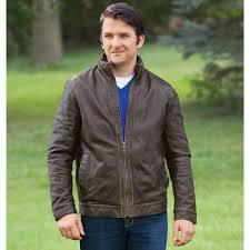 the genuine buffalo leather jacket hammacher schlemmer