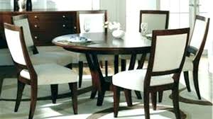 dining table set for 6 round dining table for 6 with leaf round dining table set