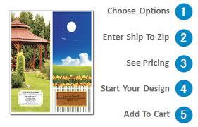 Landscaping Door Hangers 4 25 X 11 Design 2