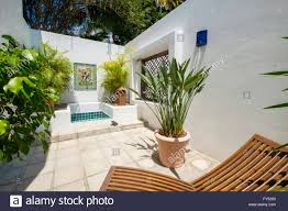 Outdoor Shower Upscale Mexican Residence Punta De Mita