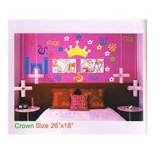 18 inches princess crown wall decal rs