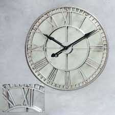 large mirror clock clocks mirrored wall oversized decorative mirrors decals sets presentation 3 piece for