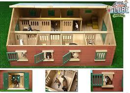 breyer horse barn plans kids globe wooden le building farm toys