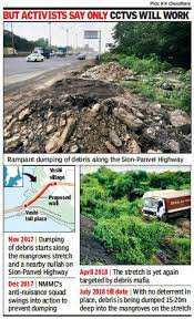 Nmmc My Chart Nmmc Plans 2km Wall To Protect Mangroves Mumbai News