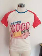 chanel t shirt. new chanel coco cuba t tee shirt cruise 2017 soldout xs coral 17yrs+ ebay