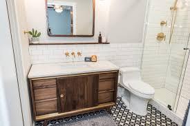 mid century modern bathroom tile. Denton Texas, Contractor, Renovation, Remodeler, Bathroom Remodel, Mid Century Modern Tile L