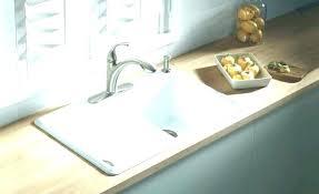 cast iron undermount sink kitchen or medium size of brackets a kohler bar ca