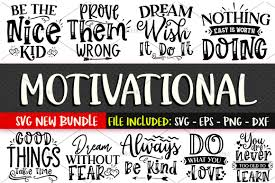 Feel free to download our free svg files for cricut and silhouette craft projects. Motivational Svg Bundle Vol 1 You Will Receive This Design In The Following Formats Svg File Transparent Png Motivational Svg Svg Motivation