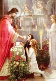 Image result for jesus first communion