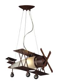 whimsical lighting fixtures. Biplane Fighter Pendant In Walnut Finish Whimsical Lighting Fixtures