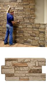 awesome faux stone wall panels about my blog in rock idea 13