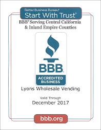 Vending Machine License California Cool Vending Machines Lyons Wholesale Vending