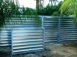 corrugated metal and wood fence corrugated metal and wood fence info clean steel local 8 wood
