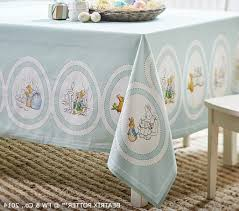 ... Peter Rabbit Easter Tablecloth Pottery Barn Kids Easter Easter  Tablecloths