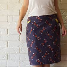Skirt Pattern Fascinating Ladies Explorer Skirt A Womens' Skirt PDF Sewing Pattern Hey