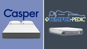 Tempurpedic Pillow Selector Chart Casper Vs Tempurpedic Which Mattress Is Best Guide