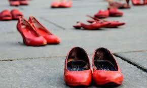 Risultati immagini per fiocco rosso contro la violenza sulle donne