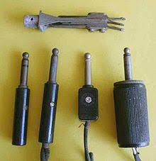 phone connector (audio) wikipedia Headset Mic Wiring Diagram the leftmost plug has three conductors; the others have two at the top is a three conductor panel jack